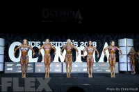 Comparisons - Fitness - 2018 Olympia