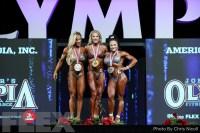 Awards - Fitness - 2018 Olympia