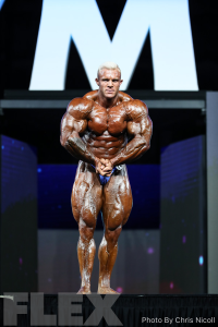 Iain Valliere - Open Bodybuilding - 2018 Olympia