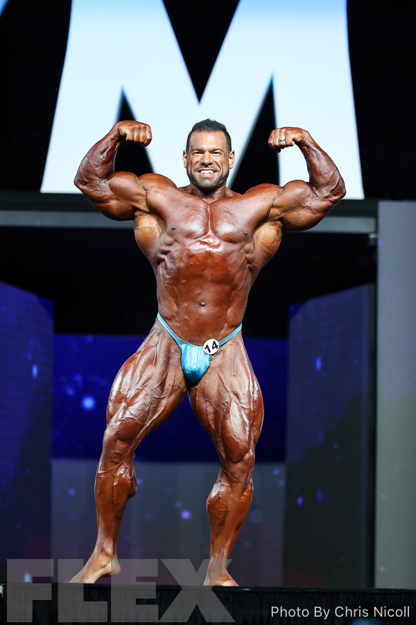 Steve Kuclo - Open Bodybuilding - 2018 Olympia