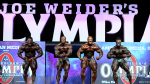 Comparisons - Open Bodybuilding - 2018 Olympia