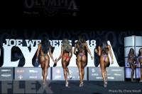 Comparisons - Bikini - 2018 Olympia
