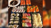 The Rock's Latest Cheat Meal Was a Sushi Platter the Size of a Boogie Board