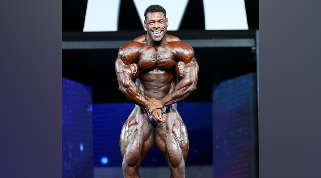 Nathan De Asha - Open Bodybuilding - 2018 Olympia