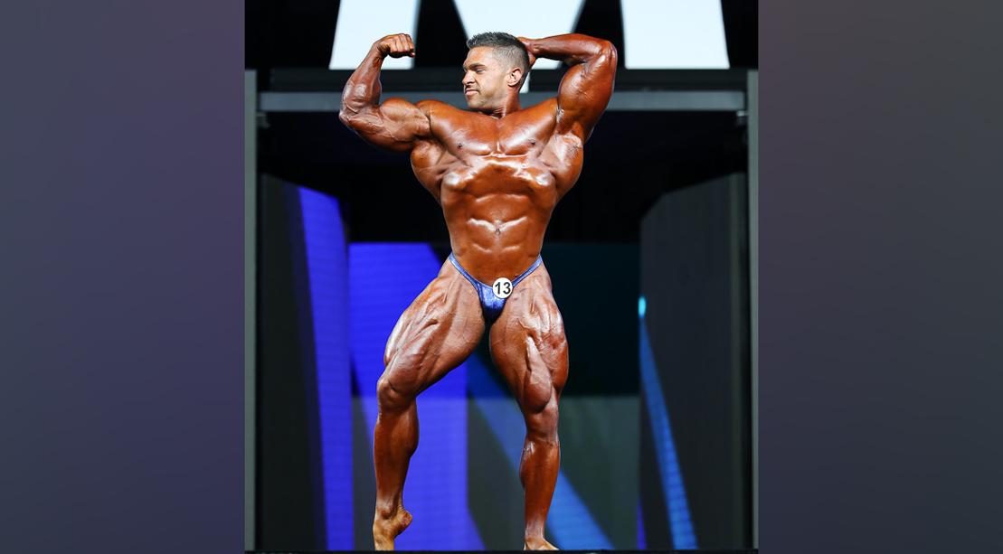 Derek Lunsford - 212 Bodybuilding - 2018 Olympia
