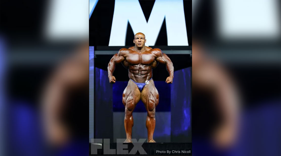 Big Ramy at the 2018 Olympia