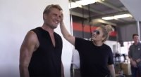 Dolph Lundgren Muscle & Fitness Behind the Scenes