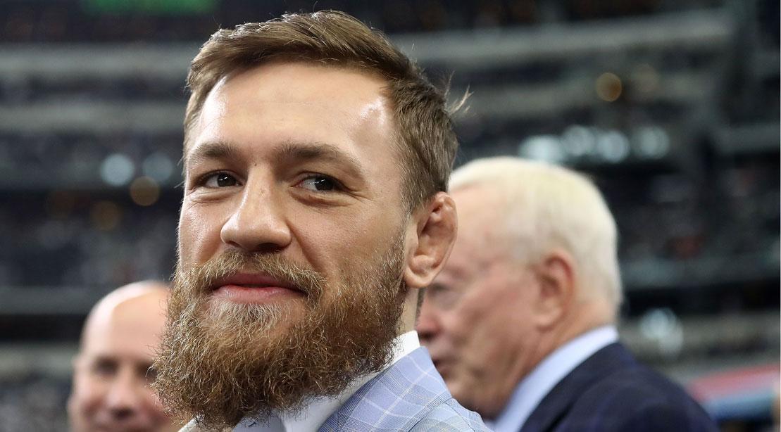 Conor McGregor Roasted for his Pregame Throw at the Dallas Cowboys