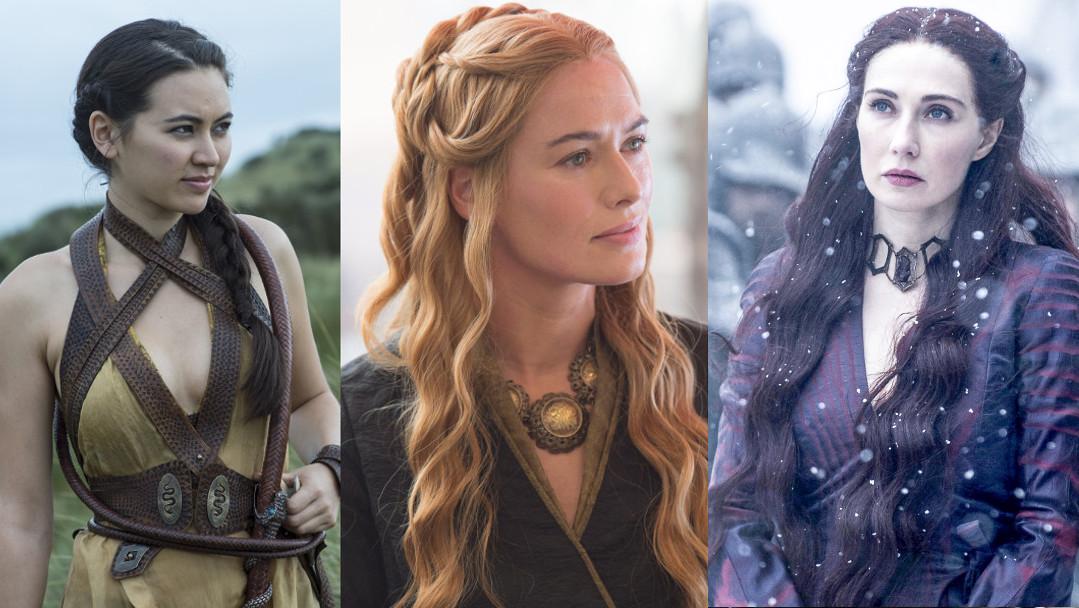 Badass women from Game of Thrones.