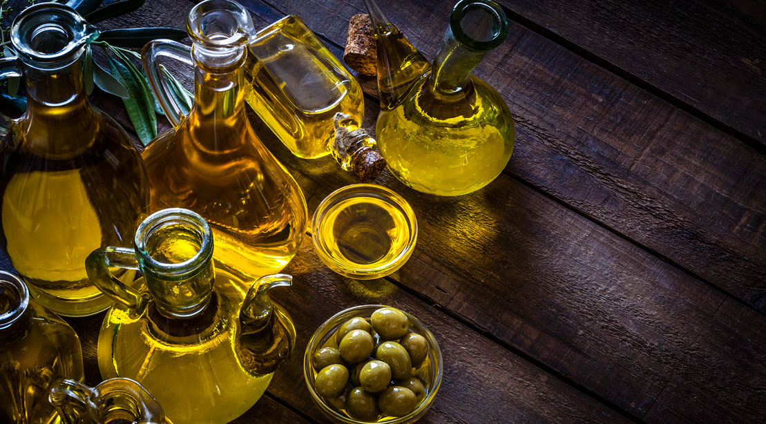 5 of the Healthiest Oils to Cook With