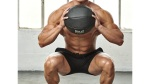 Medicine Ball Squat to Overhead Press