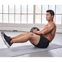 Medicine Ball V-Sit and Twist