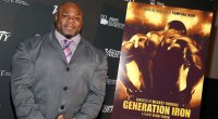 A photo of Kai Greene at the Generation Iron premiere.