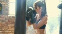 Woman Boxing Workout