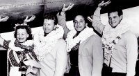 Abbye Stockton, Les, George Elferman and Steve Reeves