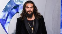 Jason Momoa at the 'Aquaman' premiere.