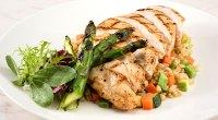 Chicken Asparagus Rice Dinner
