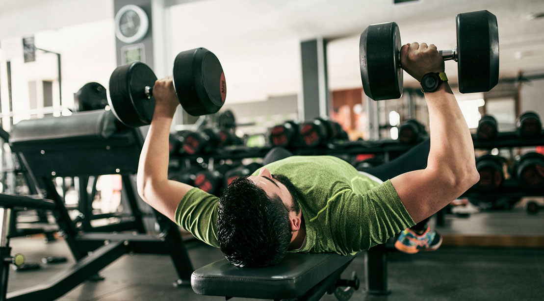 The 30-Minute Dumbbell Workout to Build Your Chest
