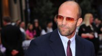 A photo of Jason Statham at the Expendables 3 premiere.