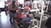 Victor Martinez and Akim Williams Train Shoulders for the 2019 Arnold Classic
