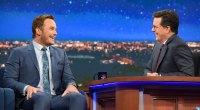 Chris Pratt talks diet on The Colbert Show