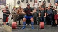 Hafþór Björnsson Deadlifts 1,042 Pounds to Beat His Own World Record