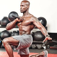 Kettlebell Clean to Lunge