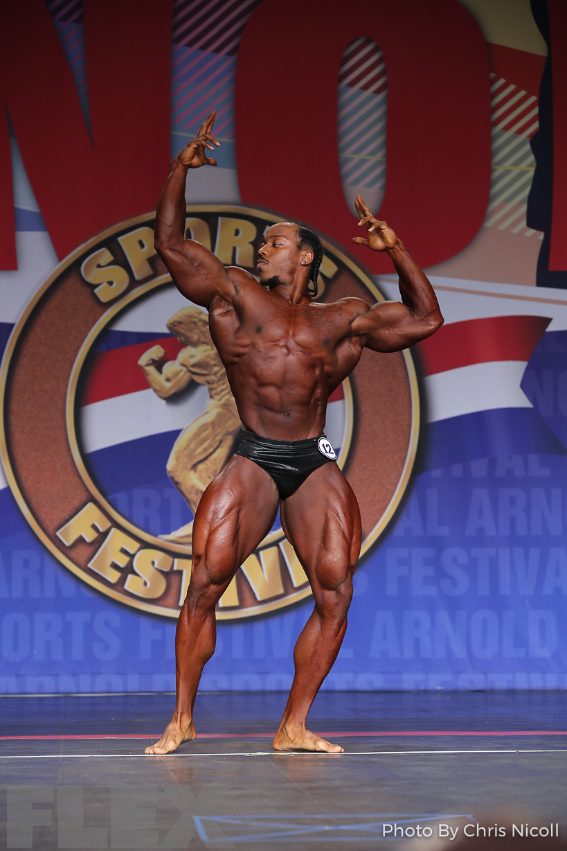 Ricky Moten - Classic Physique - 2019 Arnold Classic