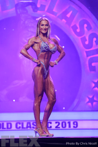 Noelia Segura - Figure - 2019 Arnold Classic