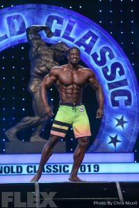 George Brown - Men's Physique - 2019 Arnold Classic