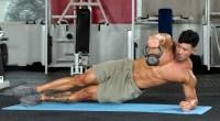 Steve Cao Side Plank