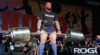 The Mountain breaking yet another deadlift record.