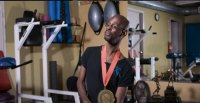 Wade McCrae uses bodybuilding to keep him alive
