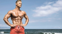 Muscle-Man-Beach-Summer-Posing