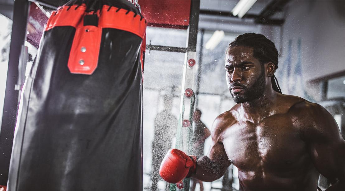 Resumen de Entrenamiento: La Clase de Boxeo de este Gimnasio te Dejará Respirar' Bailey'