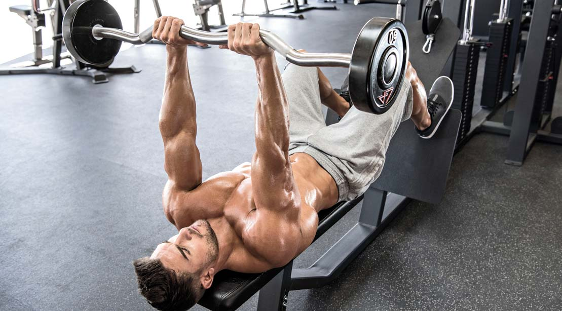 Straight Up Triceps: The Tried-and-True Arm Workout   Muscle & Fitness