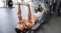 lying ez-bar triceps extension