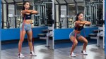 Banded-Front Squat Hers