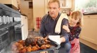 Dad-Daughter-Burnt-Oven-Chicken-Coooking