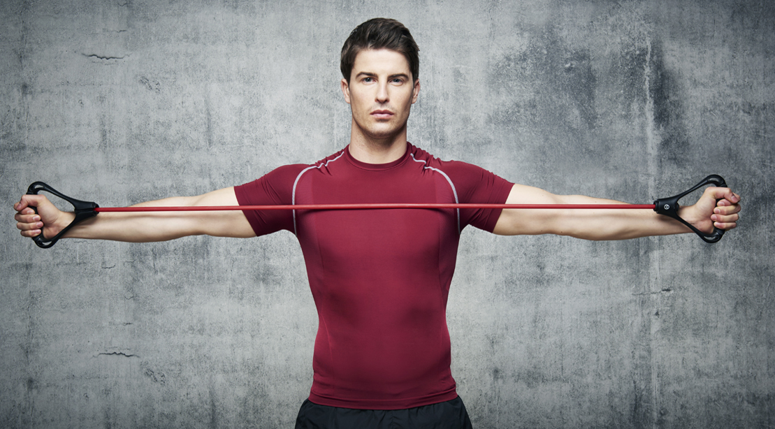 Break Away from The Barbell with These 3 Resistance Band Workouts