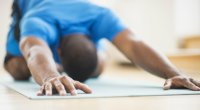 Yoga Pose Childs Pose Stretch