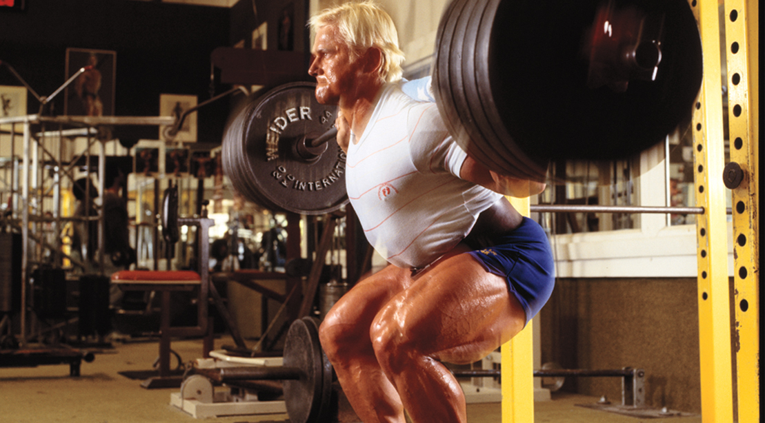 """These Throwbacks Prove That Tom Platz Truly Is """"The Quadfather"""""""