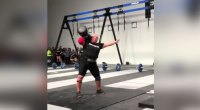 Kristen Rhodes Sets New World Record with 175lb Circus Dumbbell