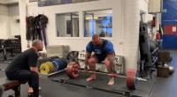 Hafthor Bjornsson deadlifting 805 pounds