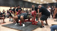 Julius Maddox Sets American Bench Record With 723 Pound Lift