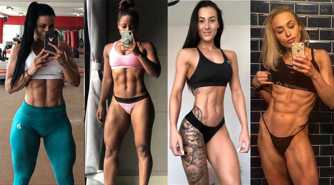 Hot girls awesome thick bodies pics 20 Women With Incredible Abs On Instagram Muscle Fitness