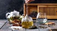 Green-Tea-Steeping-Tea-Bag