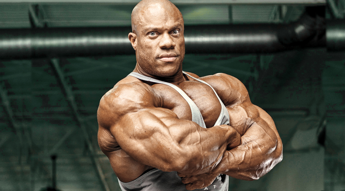 Phil Heath Is Looking Huge and Chiseled on Day 1 of Prep
