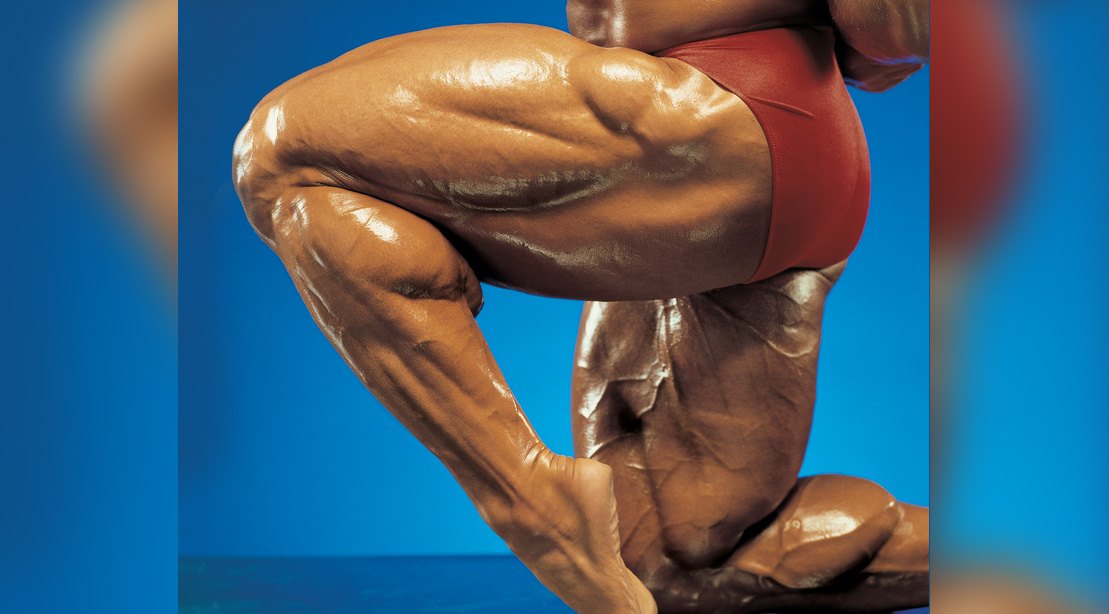 Train the Olympia Way: Hamstrings