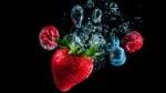 Strawberry-Under-Water